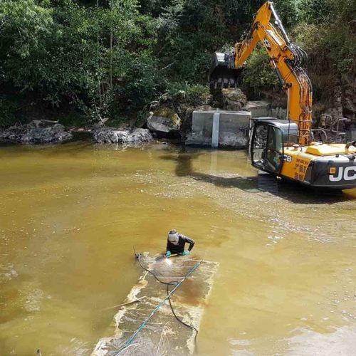 demolition d ouvrage apres